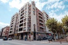 Streetview Girona Στοκ φωτογραφίες με δικαίωμα ελεύθερης χρήσης