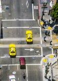 Streetview i San Francisco Arkivfoto