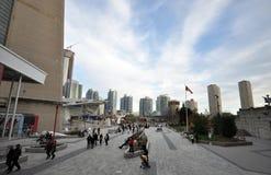 Streetview in Toronto Stock Foto