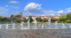Streetview in Valence Royalty Free Stock Photography