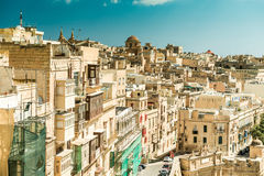Streetview of Valletta Royalty Free Stock Photos