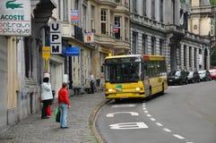 Streetview Verviers imagens de stock royalty free