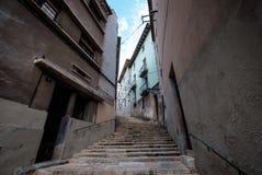 Streetview von Girona Lizenzfreie Stockbilder