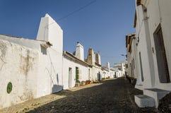 Streetview w Alentejo obraz royalty free