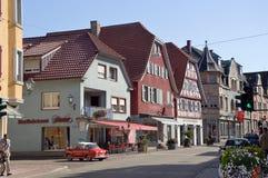 Streetview Zell Harmersbach Fotografia Stock