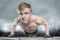 Streetworkout Royalty Free Stock Photography