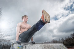 Streetworkout Stock Photography