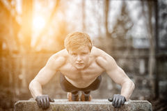 Streetworkout Royalty Free Stock Image