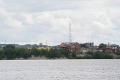 Strefa przemysłowa wyposażenie przerób ropy naftowej, zakończenie przemysłowi rurociąg rafinerii ropy naftowej roślina, szczegół  Zdjęcie Royalty Free