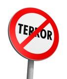 strefa wolna terror Zdjęcie Stock