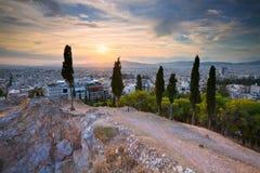 Strefi Hill, Athens. Stock Photo