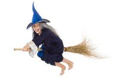 Strega di Halloween Fotografie Stock Libere da Diritti