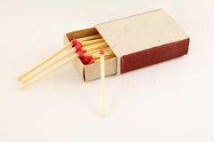 Streichholzschachtel Stockbild