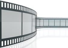 Streifen des Film-3d Lizenzfreie Stockfotos
