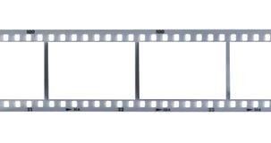 Streifen des Filmes Stockbilder