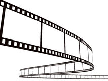 Streifen des fotographischen Filmes Lizenzfreie Stockbilder