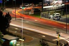 Streifen des Lichtes von Mailand Lizenzfreies Stockbild