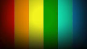 Streifen des Regenbogens Lizenzfreies Stockbild