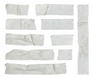 Streifen des selbsthaftenden Kreppbandes Stockbilder