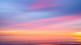 Streifen des Sonnenuntergangs Lizenzfreie Stockfotografie