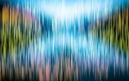 Streifen-heller Regenbogenkonzepthintergrund lizenzfreie abbildung