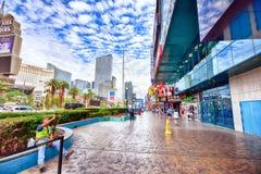 Streifen in Las Vegas Stockfotografie