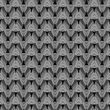 Streifen oder Draht gemacht vom Metall, schimmernd im Licht Dunkler technischer Hintergrund Lizenzfreie Stockbilder