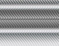 Streifen oder Draht gemacht vom Metall, schimmernd im Licht Dunkler technischer Hintergrund Lizenzfreie Stockfotografie