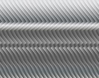 Streifen oder Draht gemacht vom Metall, schimmernd im Licht Dunkler technischer Hintergrund Lizenzfreies Stockbild