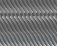 Streifen oder Draht gemacht vom Metall, schimmernd im Licht Dunkler technischer Hintergrund Stockbilder