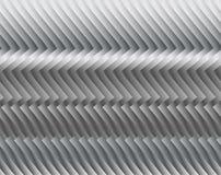 Streifen oder Draht gemacht vom Metall, schimmernd im Licht Dunkler technischer Hintergrund Stockbild