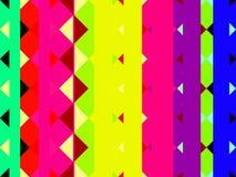 Streifen und Dreiecke Lizenzfreies Stockfoto