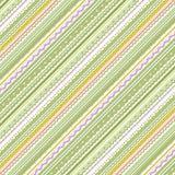 Streifen und Spitze- grün und weißerhintergrund vektor abbildung