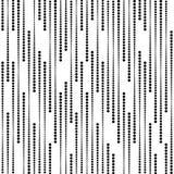Streifen von Halbtonpunkten, Vector nahtloses Muster Stockbilder