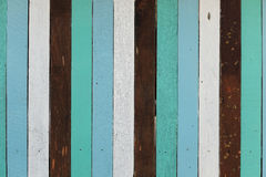 Streifen-Wandbeschaffenheit der Weinlese hölzerne Lizenzfreies Stockbild