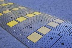 Streifengeschwindigkeitsrampe Stockbilder