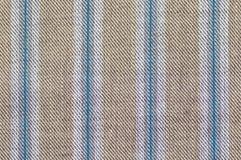 Streifengewebe-Musterabschluß oben Lizenzfreies Stockfoto