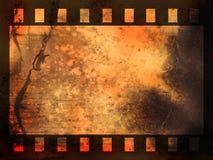 Streifenhintergrund des abstrakten Filmes Stockfotografie