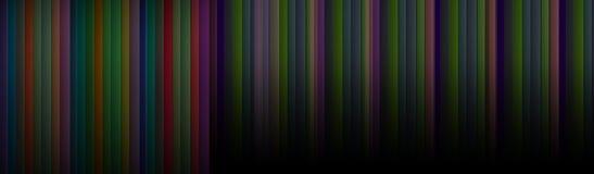 Streifenlinie buntes Hintergrundkonzept vektor abbildung