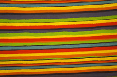 Streifenlinien des Stoffes Stockbild