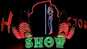 Streifenshow stock video