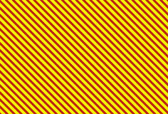 Streift rotes Gelb Lizenzfreies Stockbild