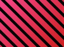 Streift rotes rosa Schwarzes Stockfotos