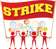 Streik Stockfotos