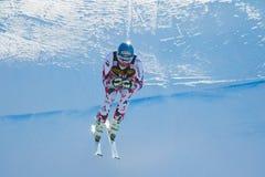 Streitberger Georg dans Audi FIS Ski World Cup alpin Photographie stock libre de droits