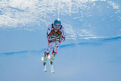 Streitberger Georg em Audi FIS Ski World Cup alpino Fotografia de Stock Royalty Free