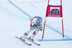 STREITBERGER Georg i FIS alpina Ski World Cup - 3rd TOPPNA MÄN Arkivfoto