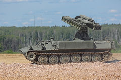 Strela-10 (SA-13地鼠) 免版税库存图片