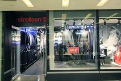 Strellson shop in hong kong Stock Images