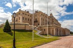 Strelna Rusia Constantine Palace fotografía de archivo